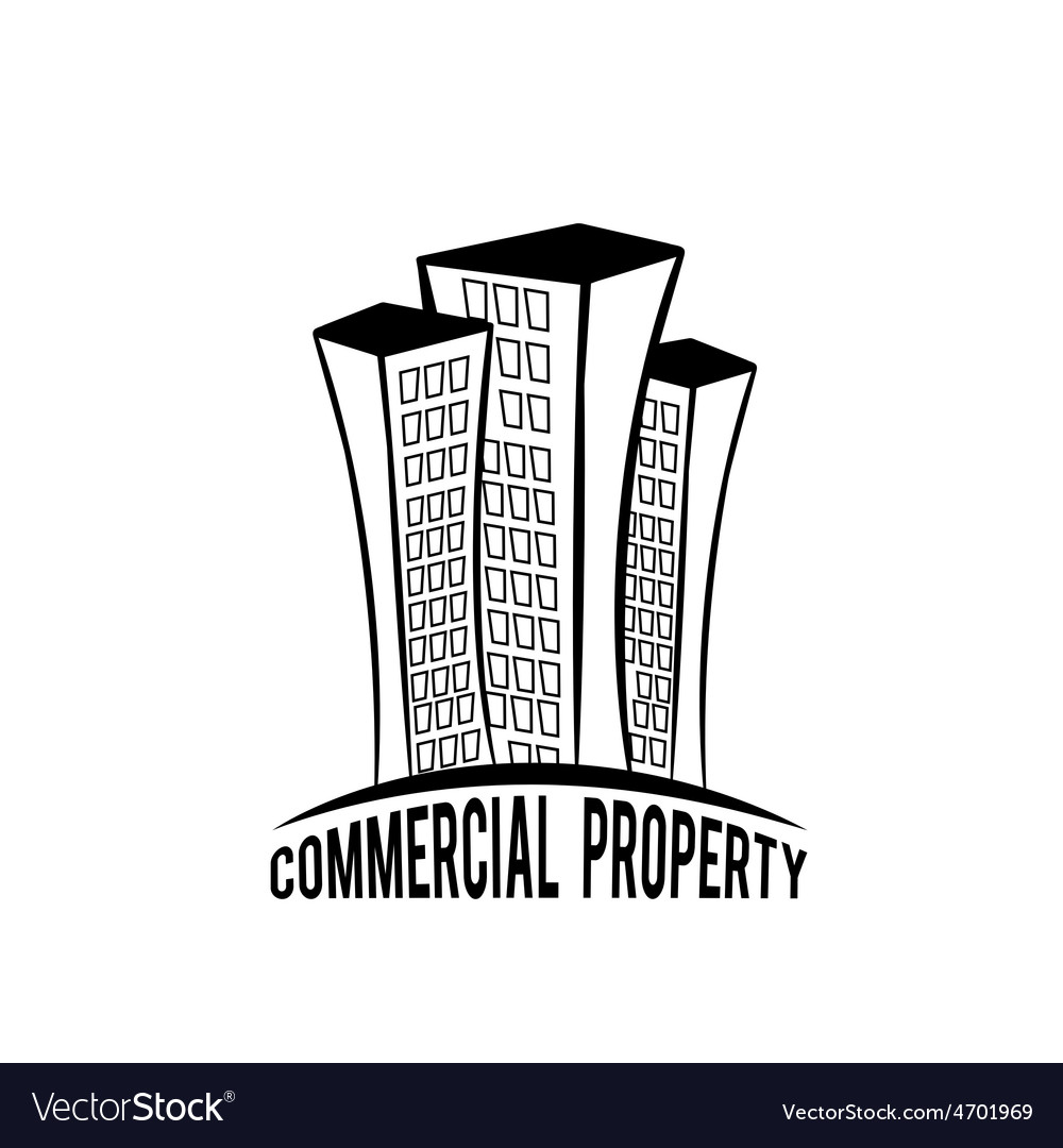 Commercial property vector | Price: 1 Credit (USD $1)