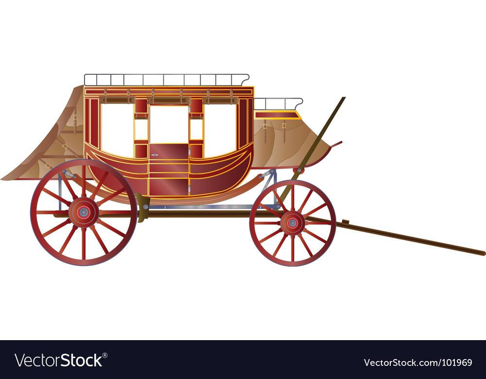 Vintage coach vector | Price: 1 Credit (USD $1)