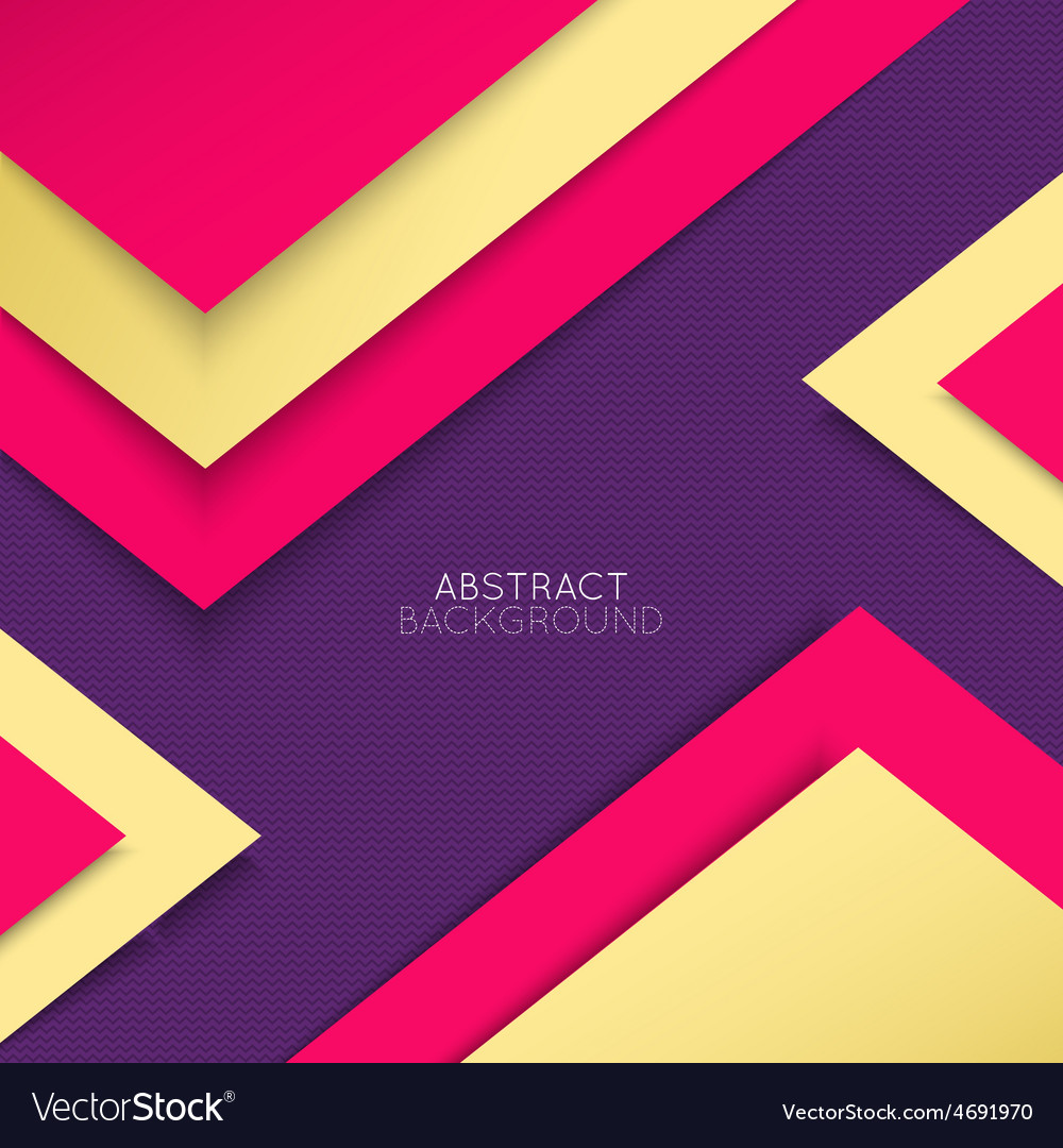 Abstract background multicolored shapes shadow vector | Price: 1 Credit (USD $1)
