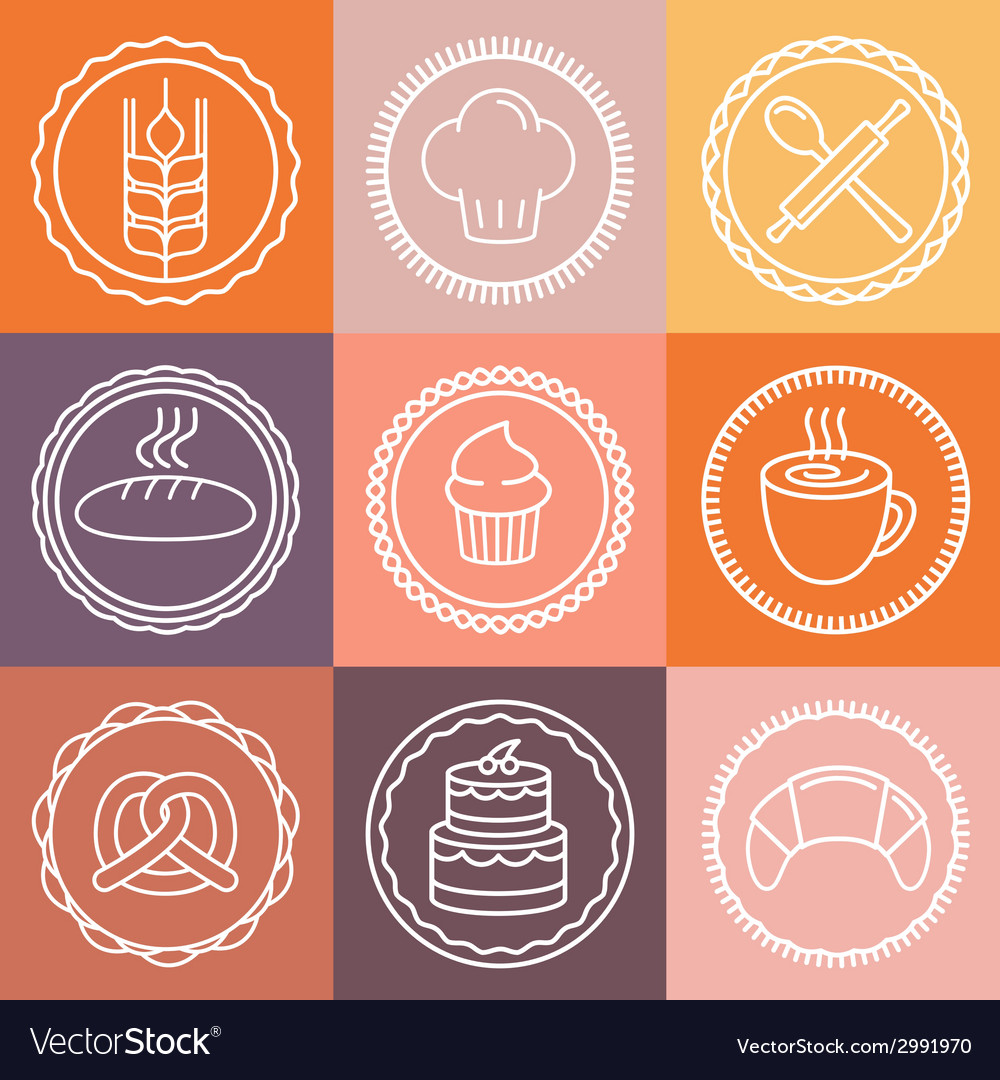 Bakery logo vector | Price: 1 Credit (USD $1)
