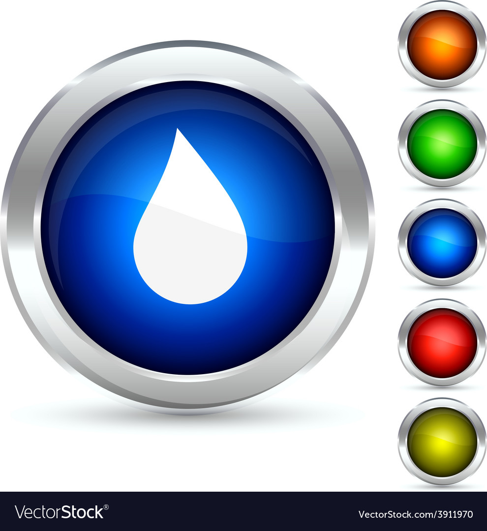 Drop button vector | Price: 1 Credit (USD $1)