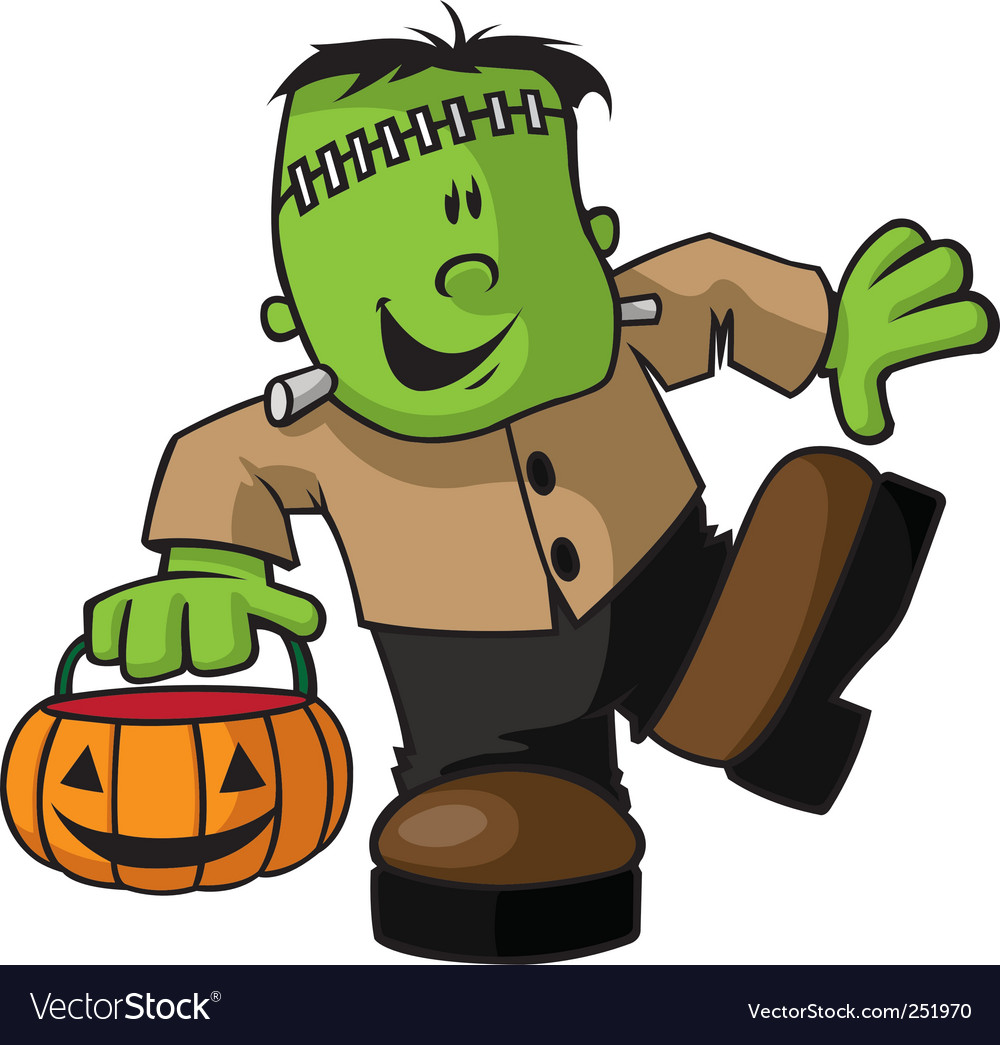Franken kid vector | Price: 3 Credit (USD $3)