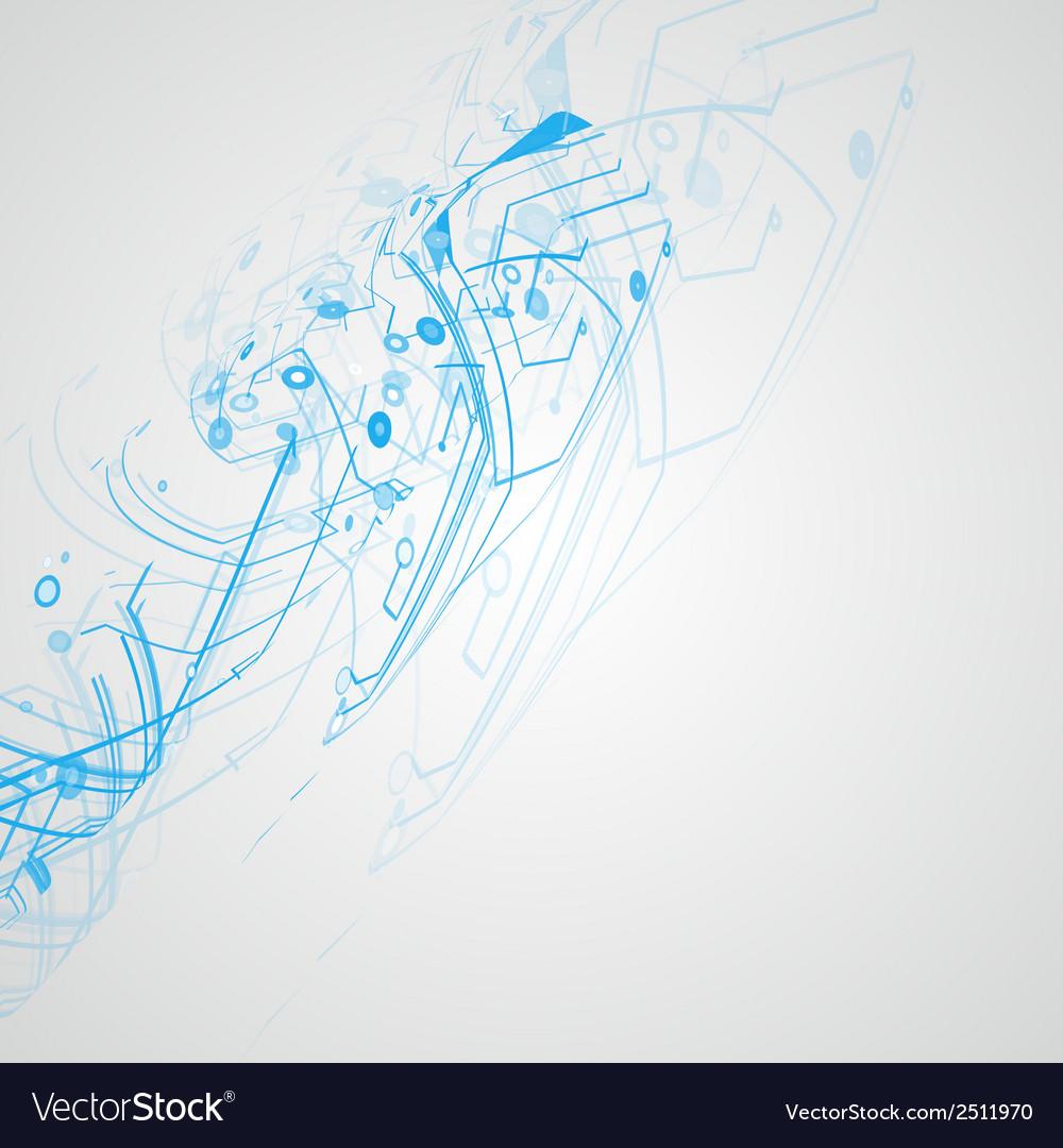 Futuristic technology vector | Price: 1 Credit (USD $1)