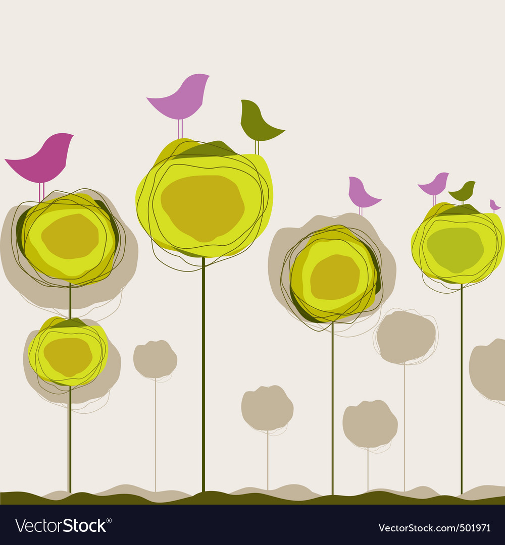 Nature birds vector | Price: 1 Credit (USD $1)