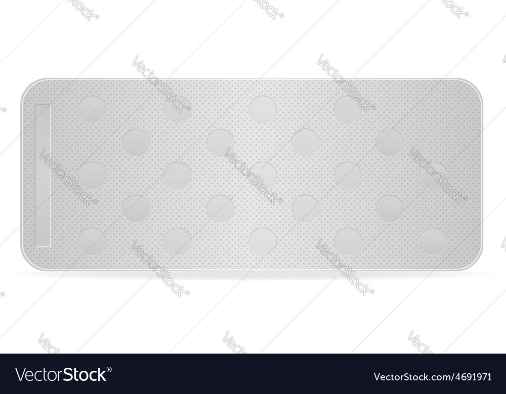Pill in package 10 vector | Price: 1 Credit (USD $1)