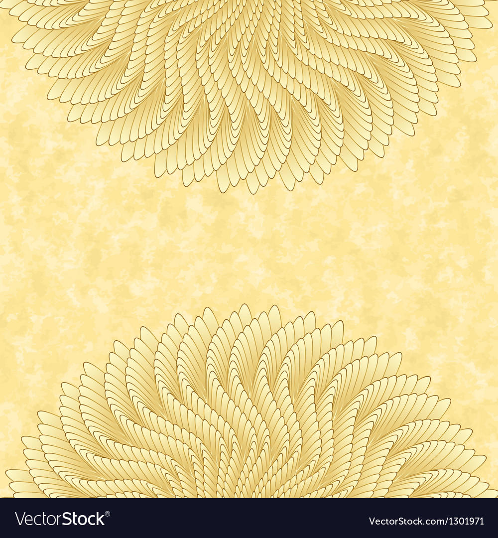 Vintage card template background cover vector | Price: 1 Credit (USD $1)
