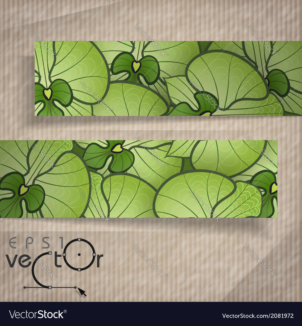Abstract banners with place for your text vector | Price: 1 Credit (USD $1)