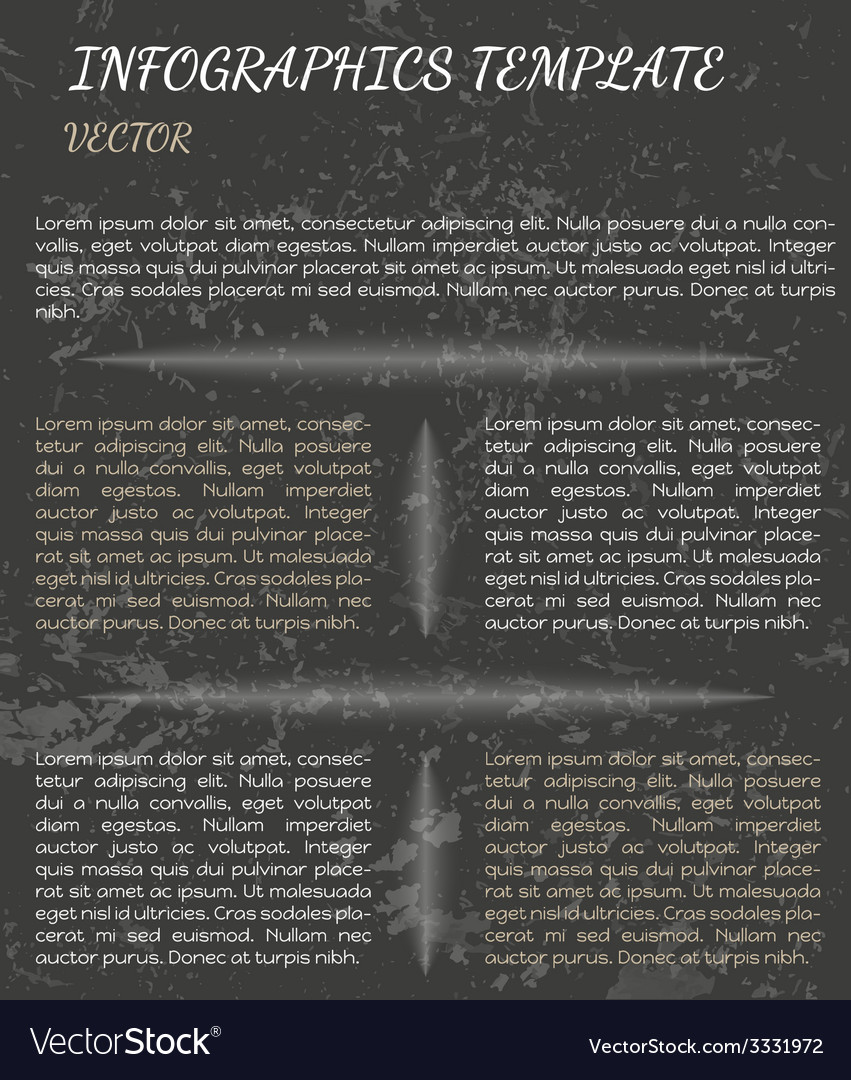Dark infographics vector | Price: 1 Credit (USD $1)