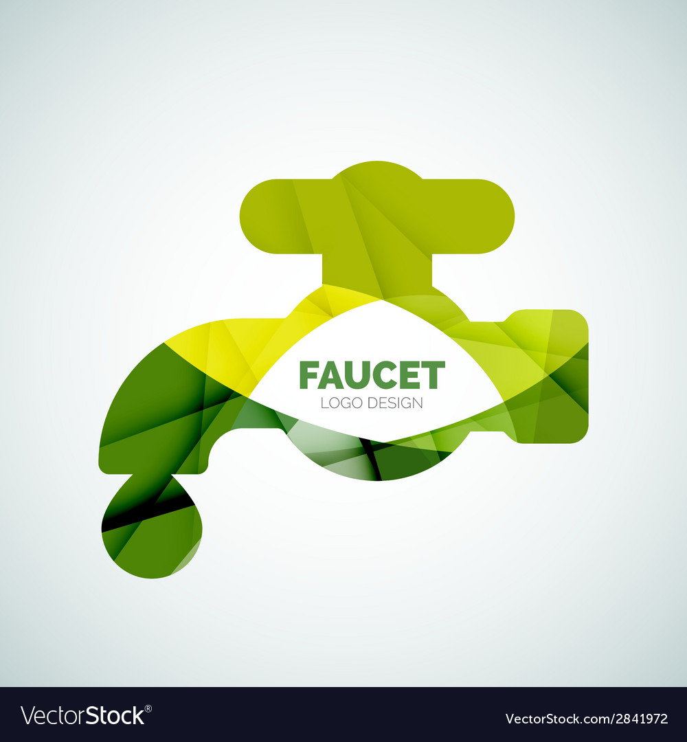 Faucet logo vector | Price: 1 Credit (USD $1)