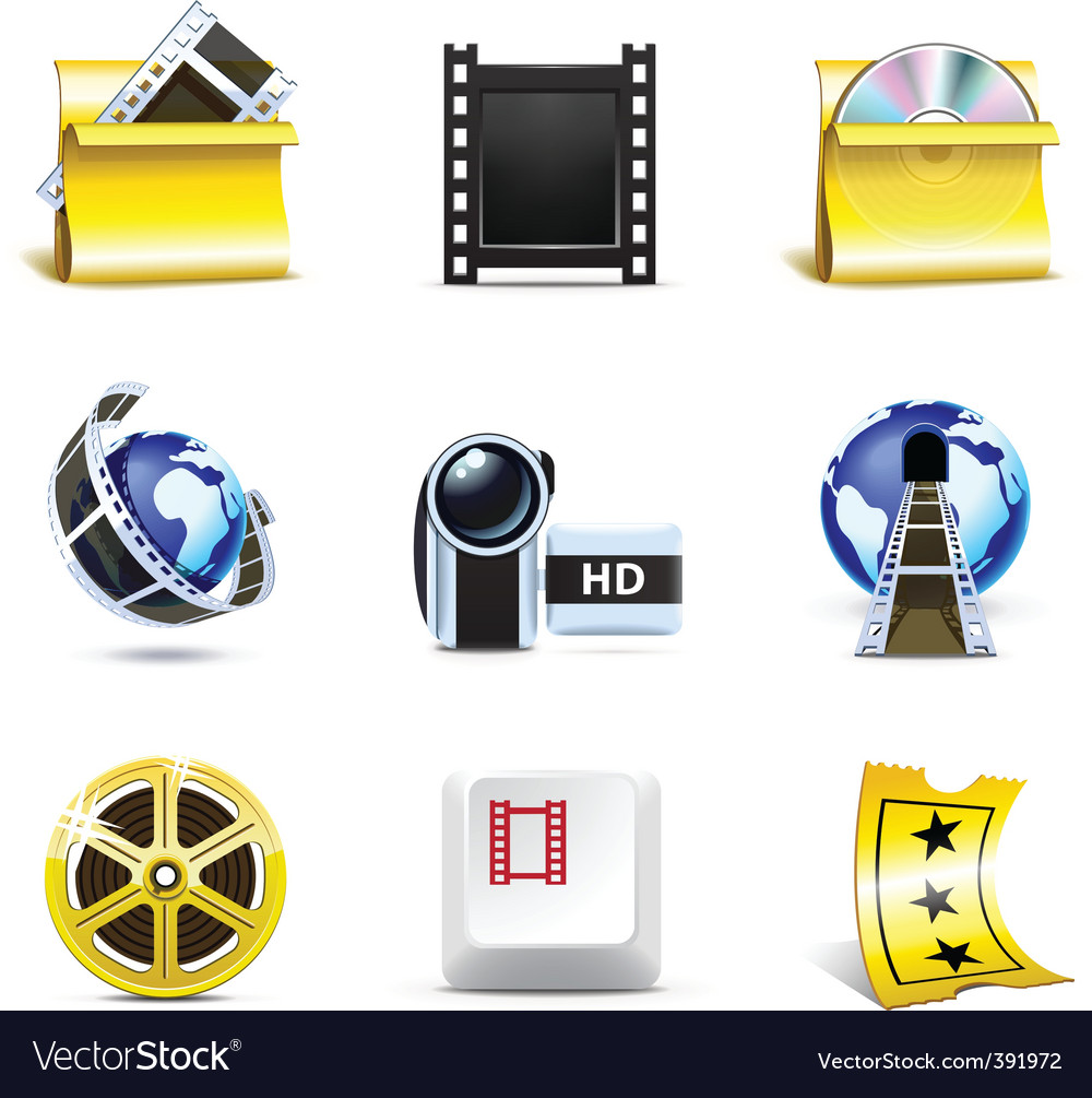 Movie icons | bella series vector | Price: 3 Credit (USD $3)