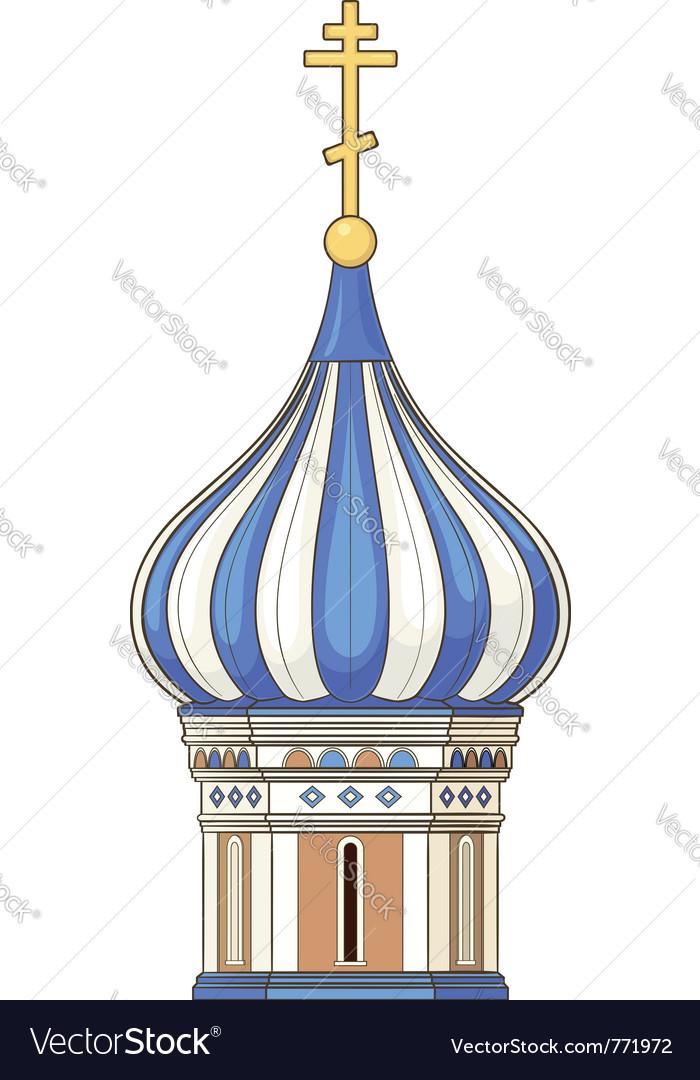 Russian church vector | Price: 1 Credit (USD $1)