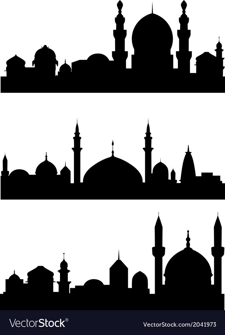Islamic architecture vector | Price: 1 Credit (USD $1)