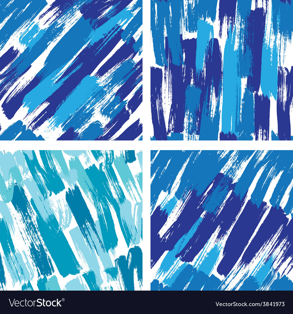 Paint stripes blue 380 vector | Price: 1 Credit (USD $1)