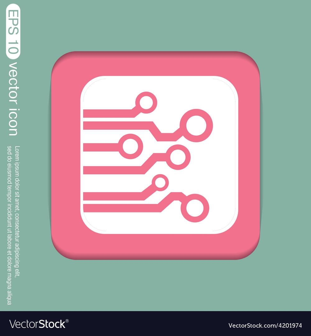 Circuit board sign icon technology scheme symbol vector   Price: 1 Credit (USD $1)