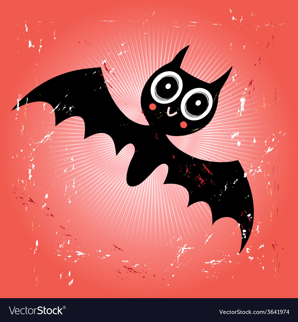 Funny bat vector | Price: 1 Credit (USD $1)