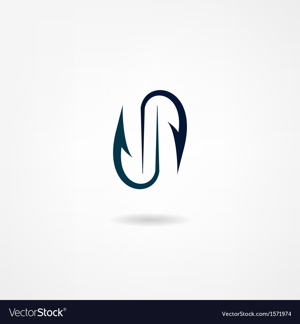 Hook icon vector | Price: 1 Credit (USD $1)