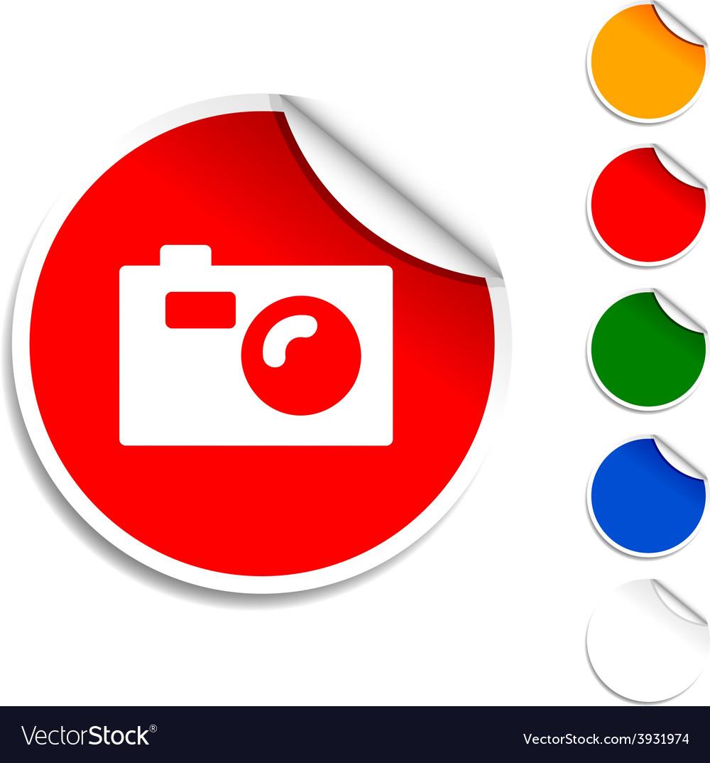 Photo icon vector | Price: 1 Credit (USD $1)