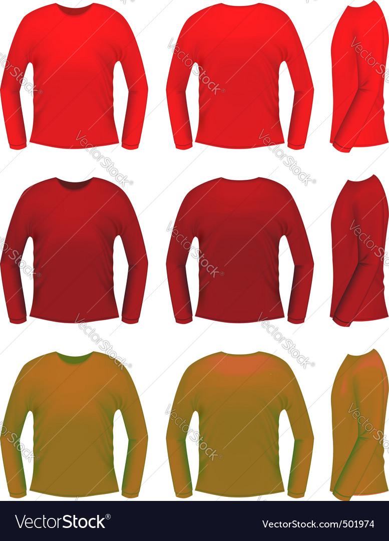 T-shirt templates vector | Price: 1 Credit (USD $1)
