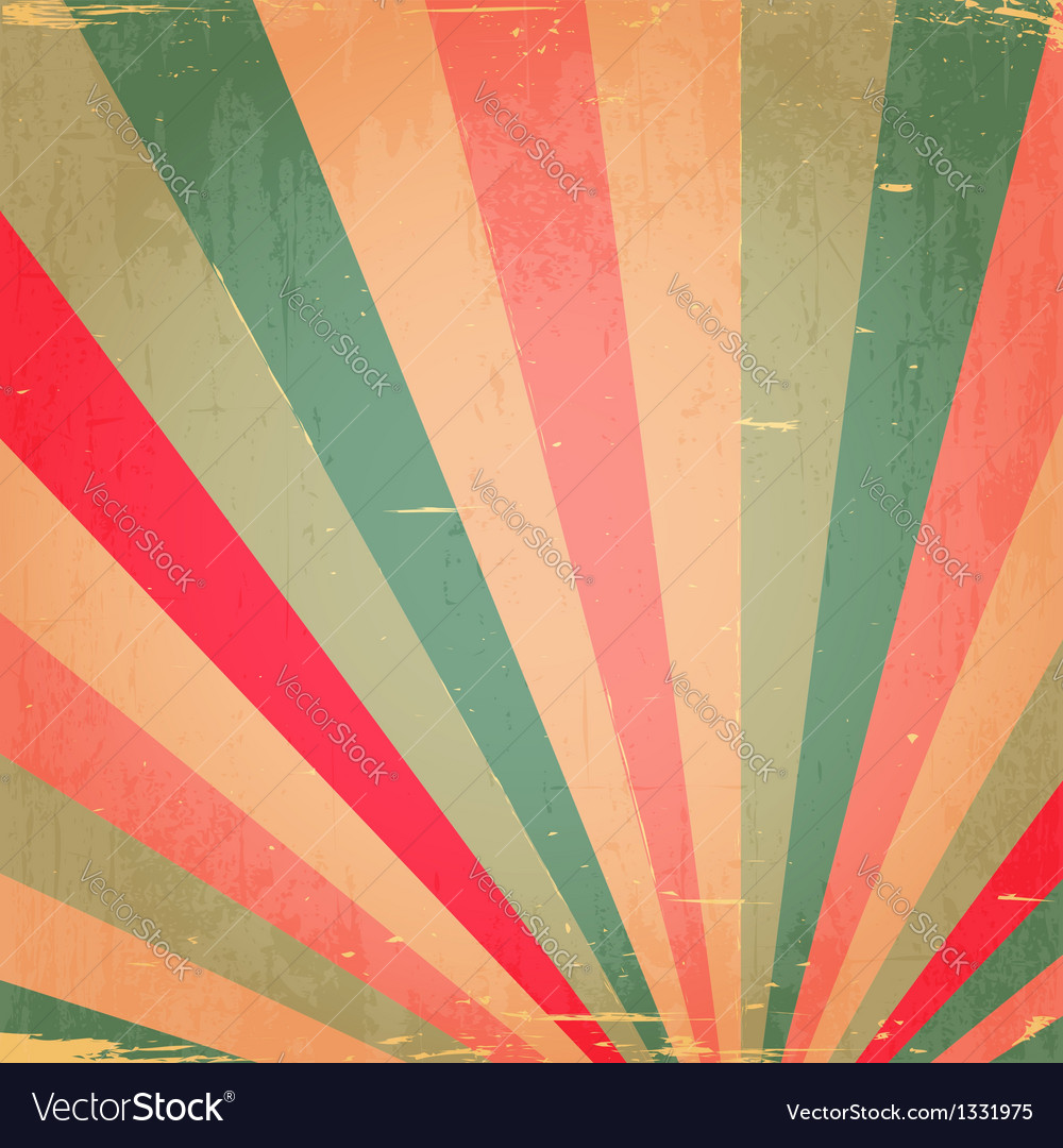 Abstract colorful grunge rays background vector | Price: 1 Credit (USD $1)
