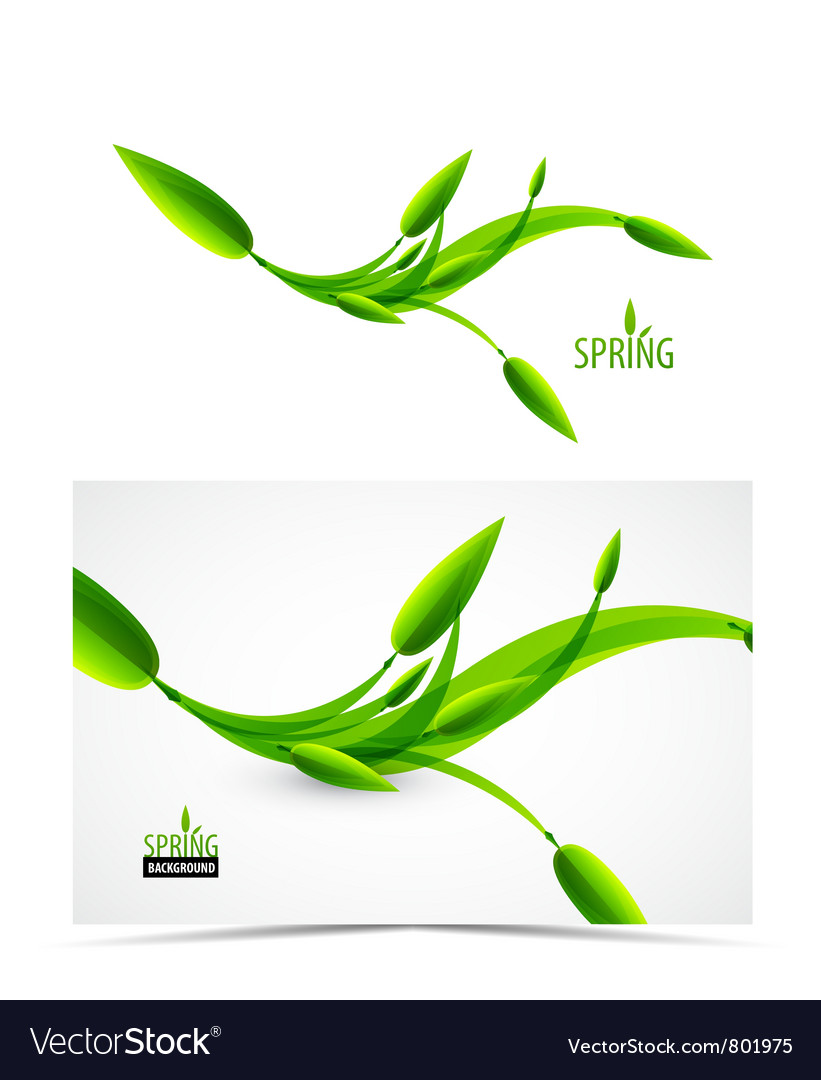Abstract spring summer waves vector   Price: 1 Credit (USD $1)