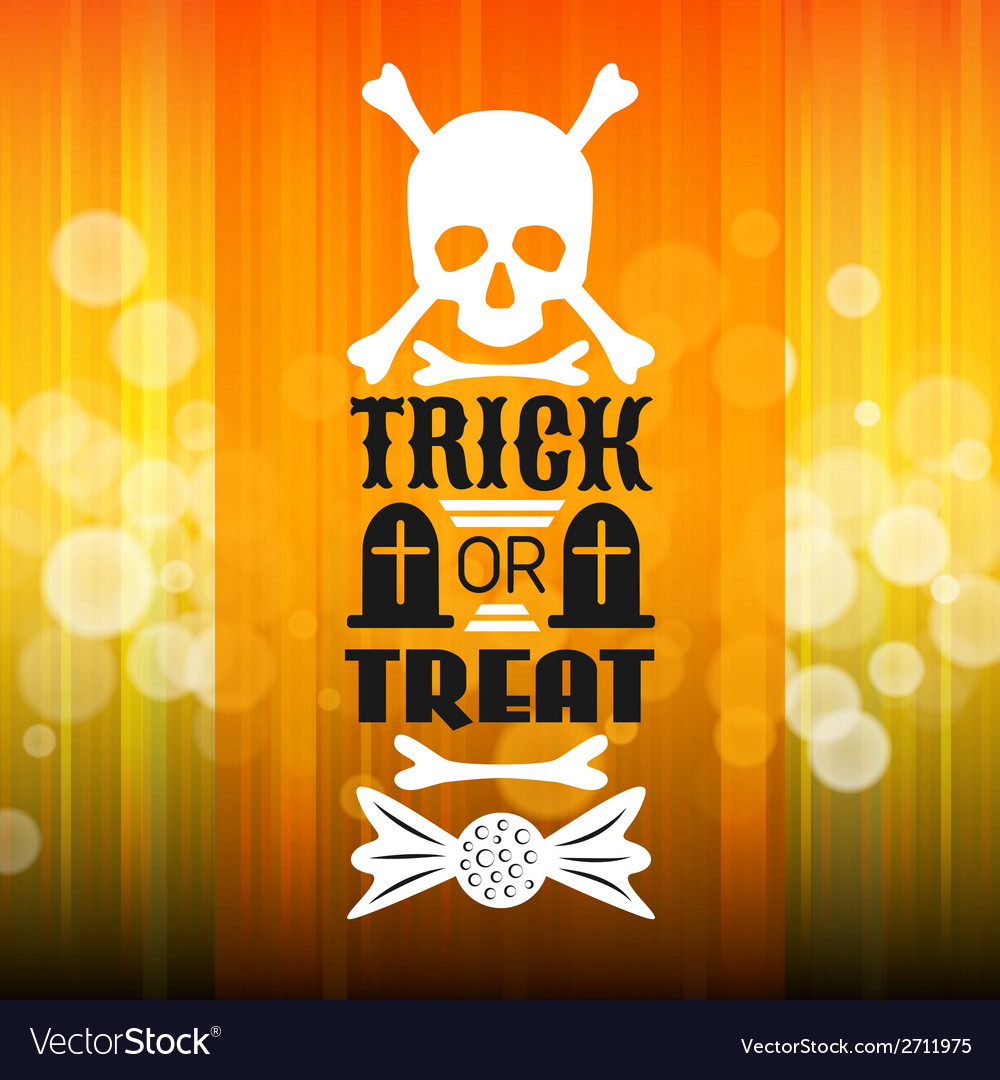 Halloween party poster typography letters font vector | Price: 1 Credit (USD $1)