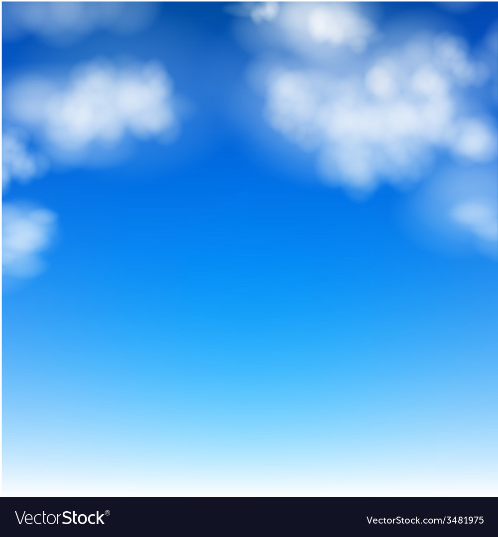Realistic sky vector | Price: 1 Credit (USD $1)