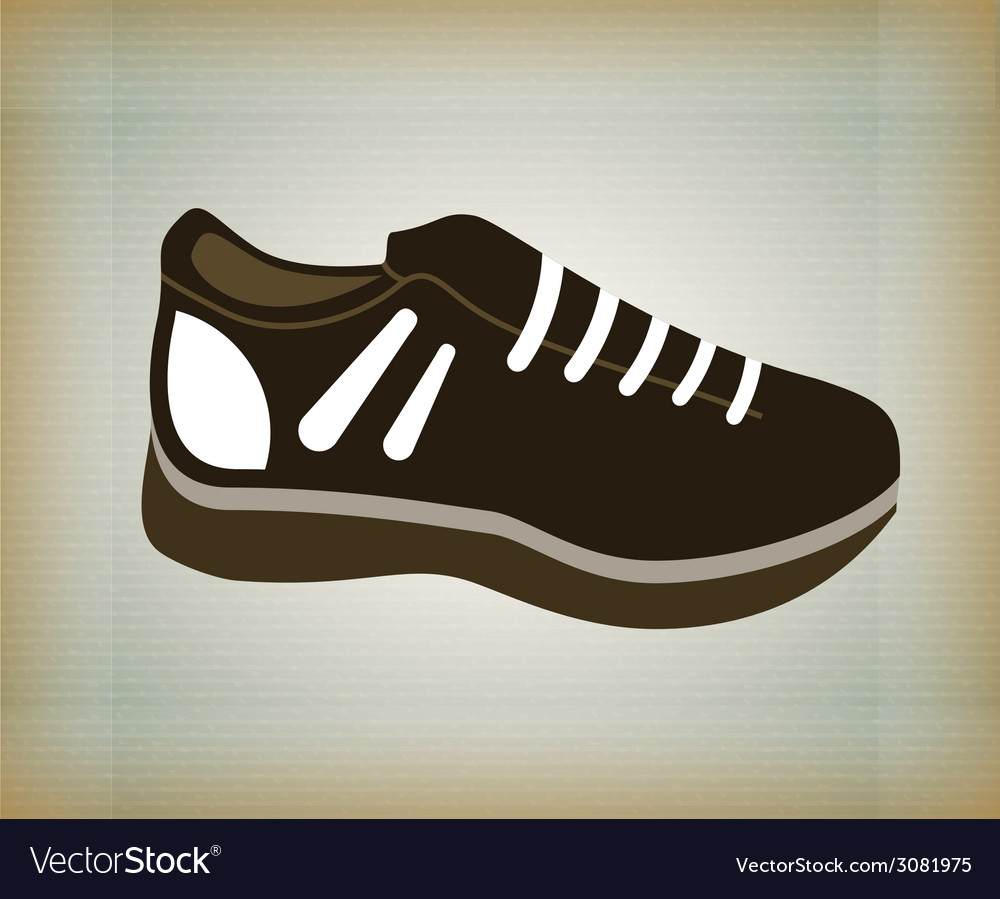 Sport shoes design vector | Price: 1 Credit (USD $1)