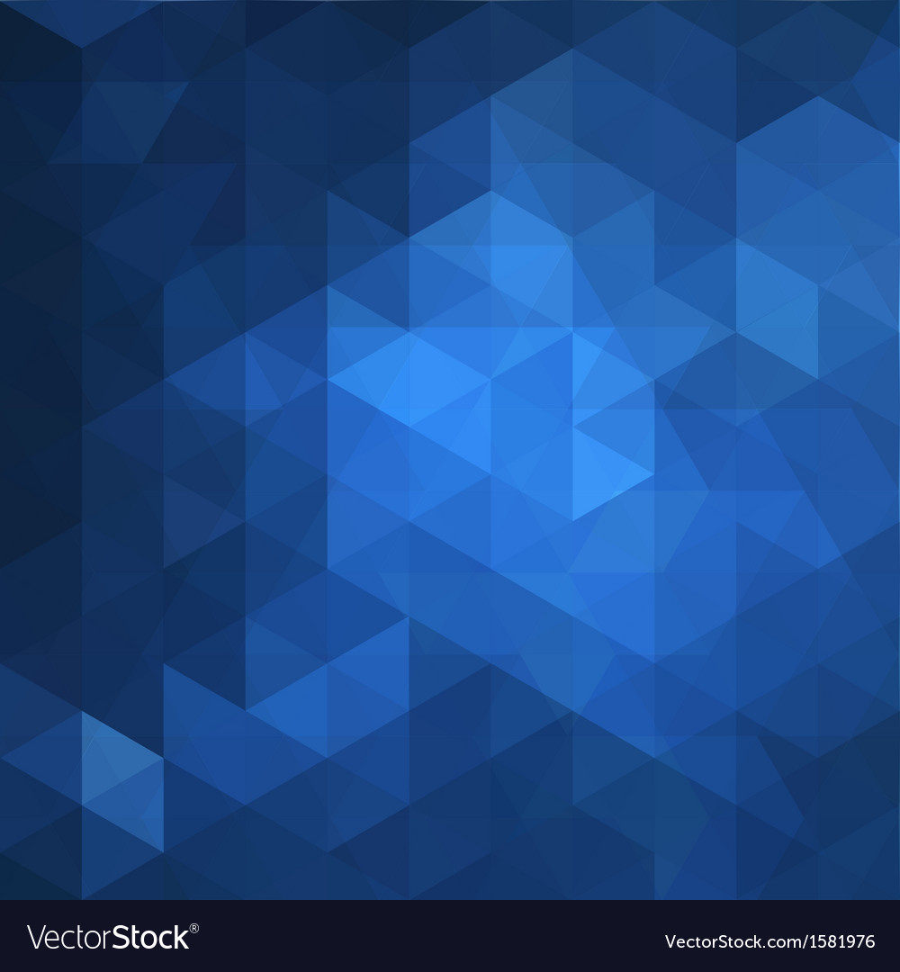 Blue triangle abstract background vector | Price: 1 Credit (USD $1)