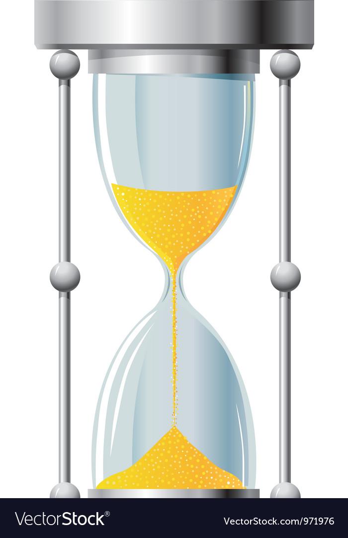 Hourglass vector | Price: 1 Credit (USD $1)