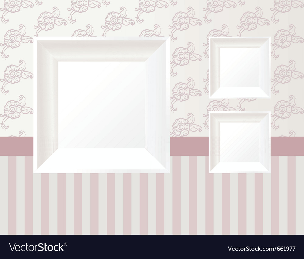 3d empty frame vector | Price: 1 Credit (USD $1)