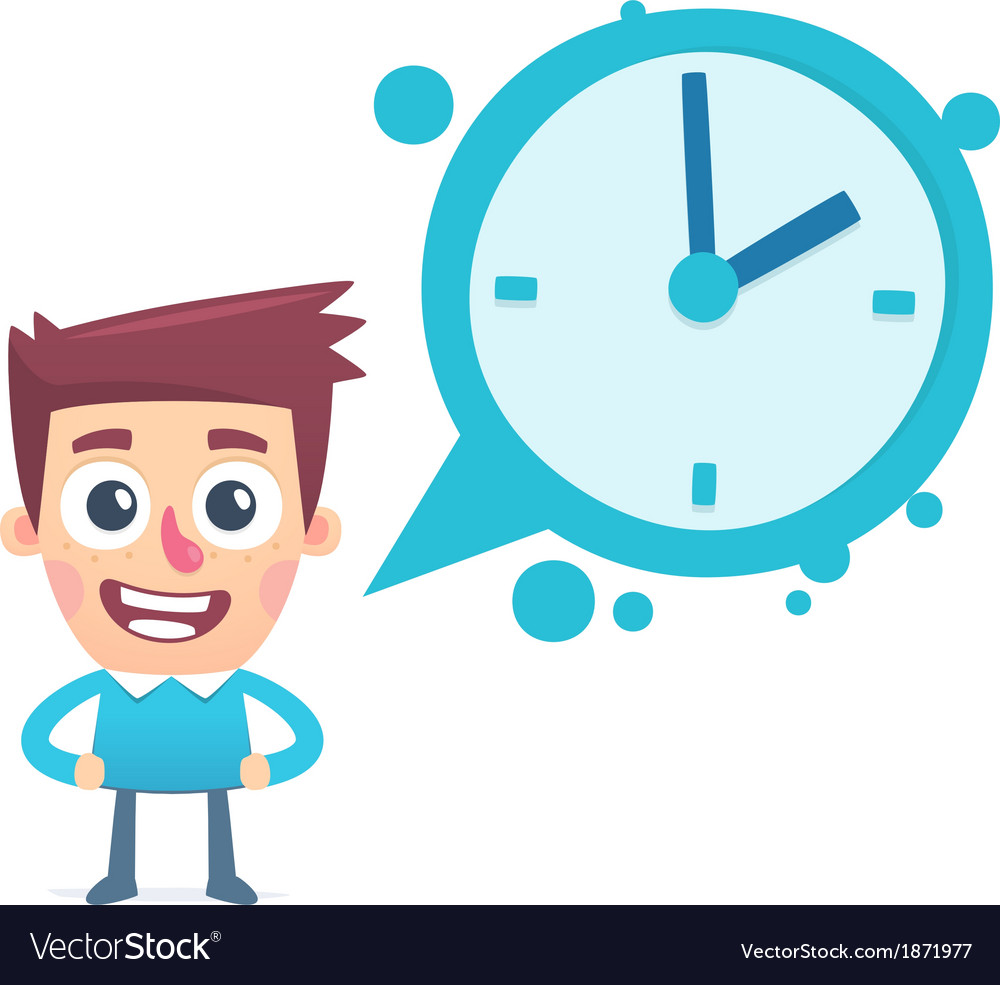 Dialogue about time vector | Price: 1 Credit (USD $1)