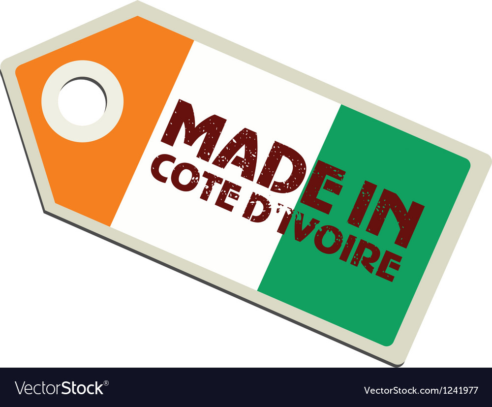 Made in ivory coast vector | Price: 1 Credit (USD $1)