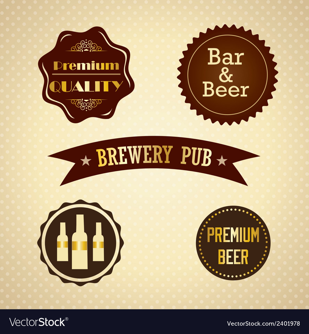 Bar labels vector | Price: 1 Credit (USD $1)