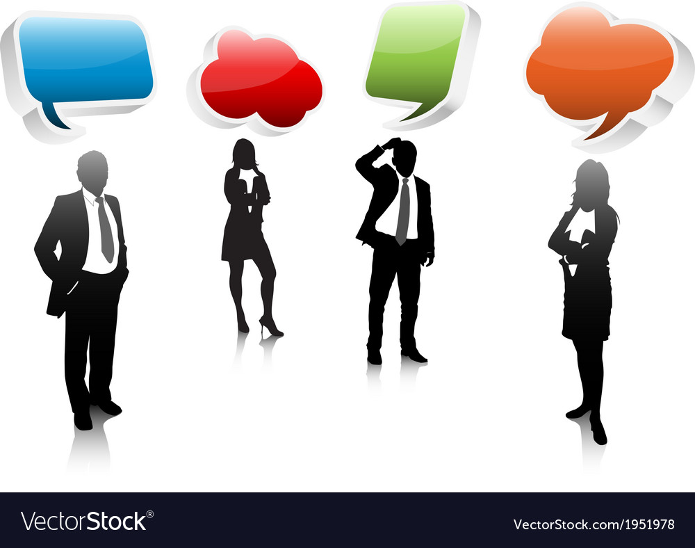 Business communication vector | Price: 1 Credit (USD $1)