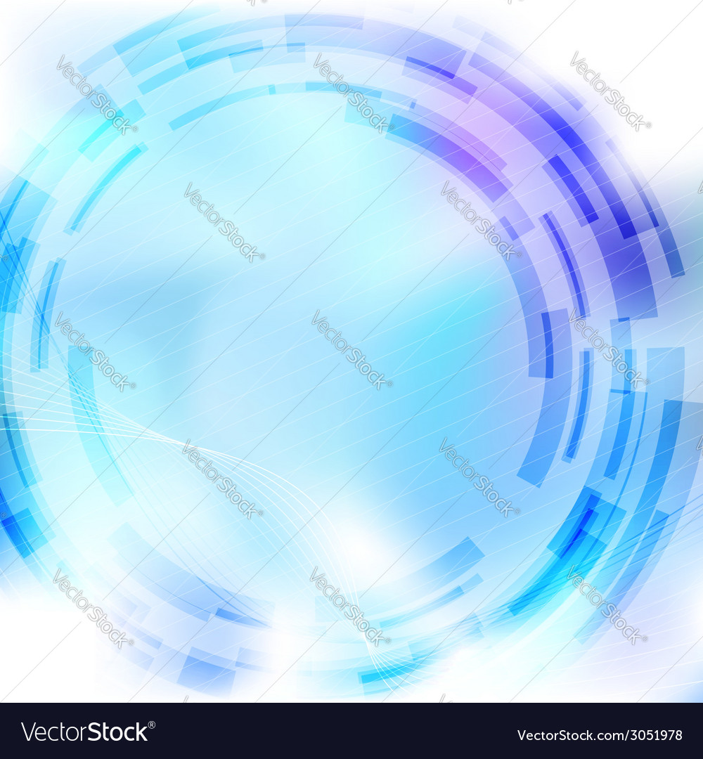 Modernistic mechanical blue gear background vector | Price: 1 Credit (USD $1)