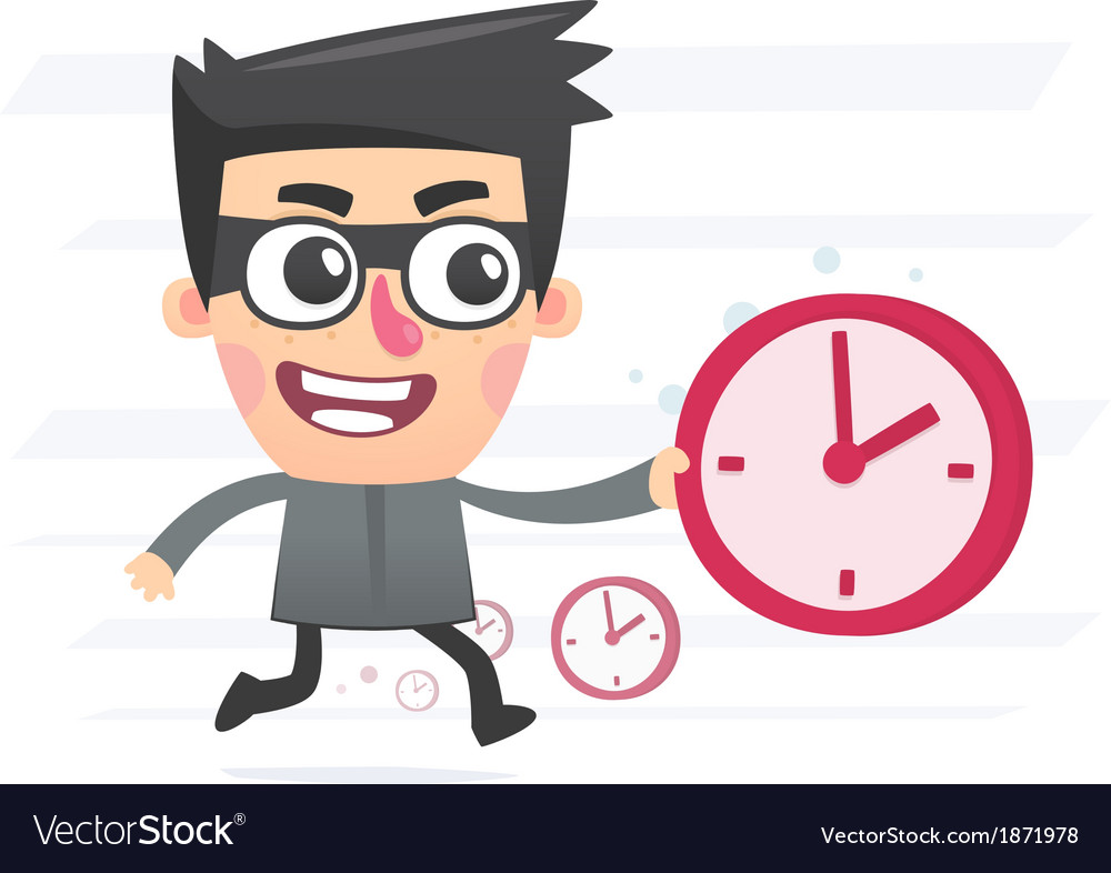 Time thief vector | Price: 1 Credit (USD $1)