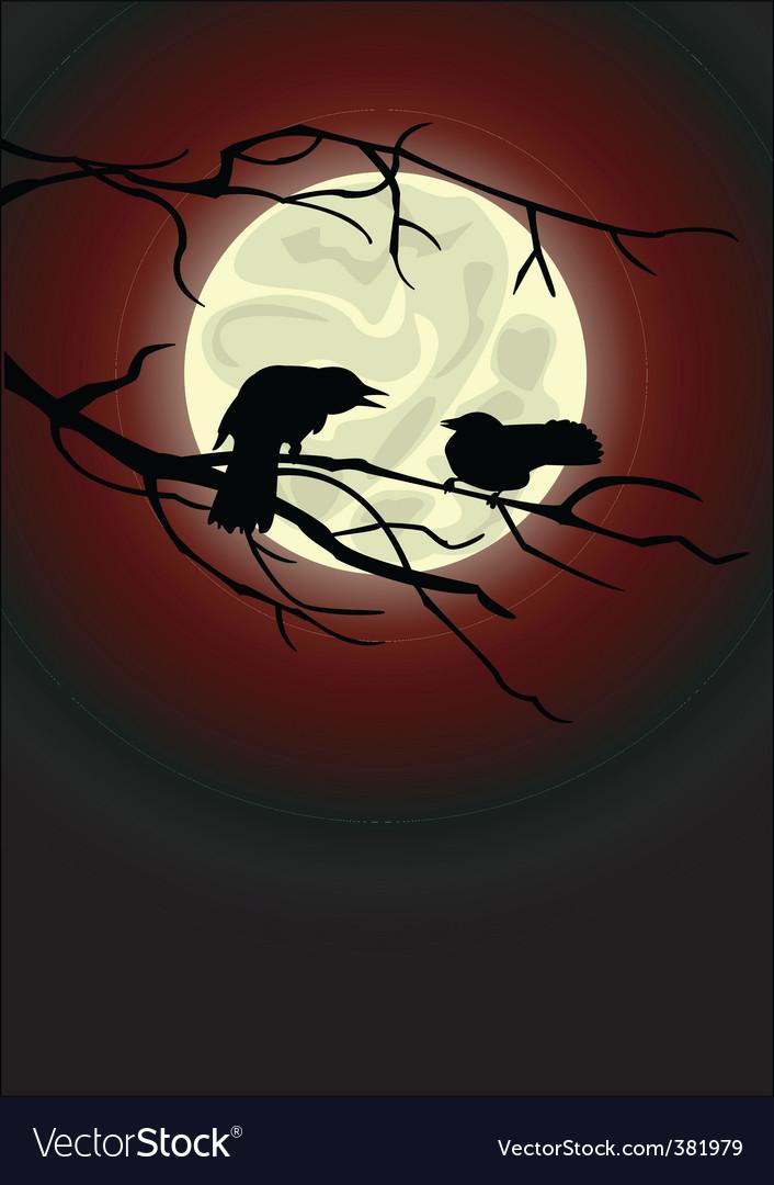 Crows vector | Price: 1 Credit (USD $1)