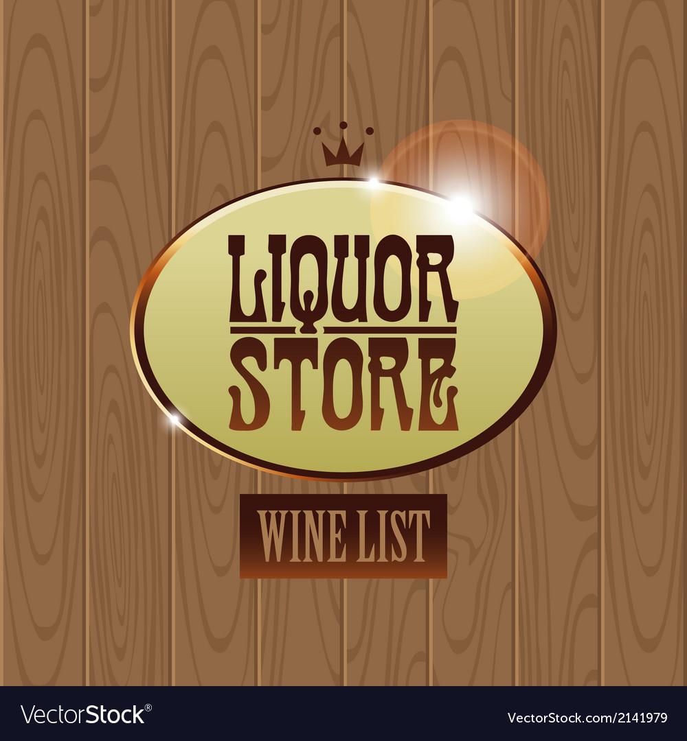 Liquor store vector | Price: 1 Credit (USD $1)