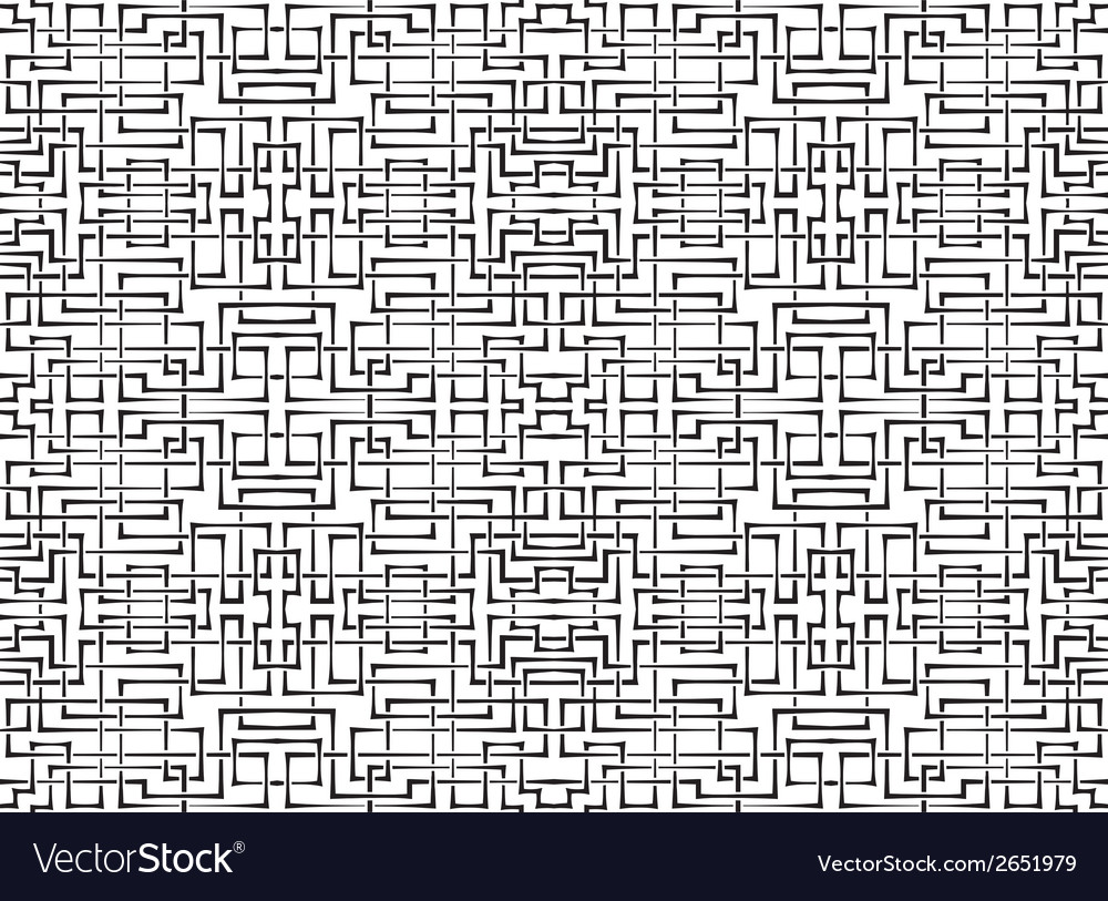 Seamless ornament background of interlacing bands vector | Price: 1 Credit (USD $1)