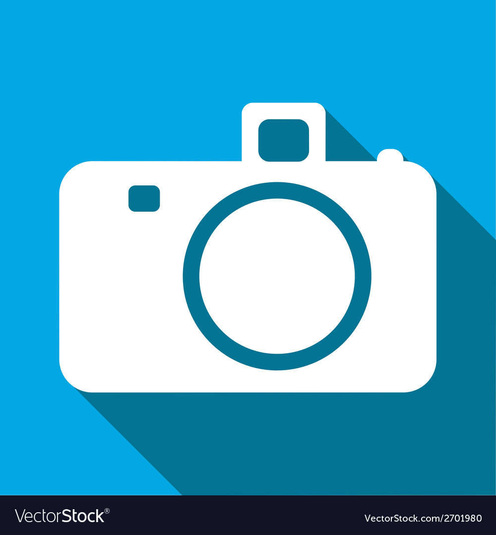 Camera flat icon vector | Price: 1 Credit (USD $1)