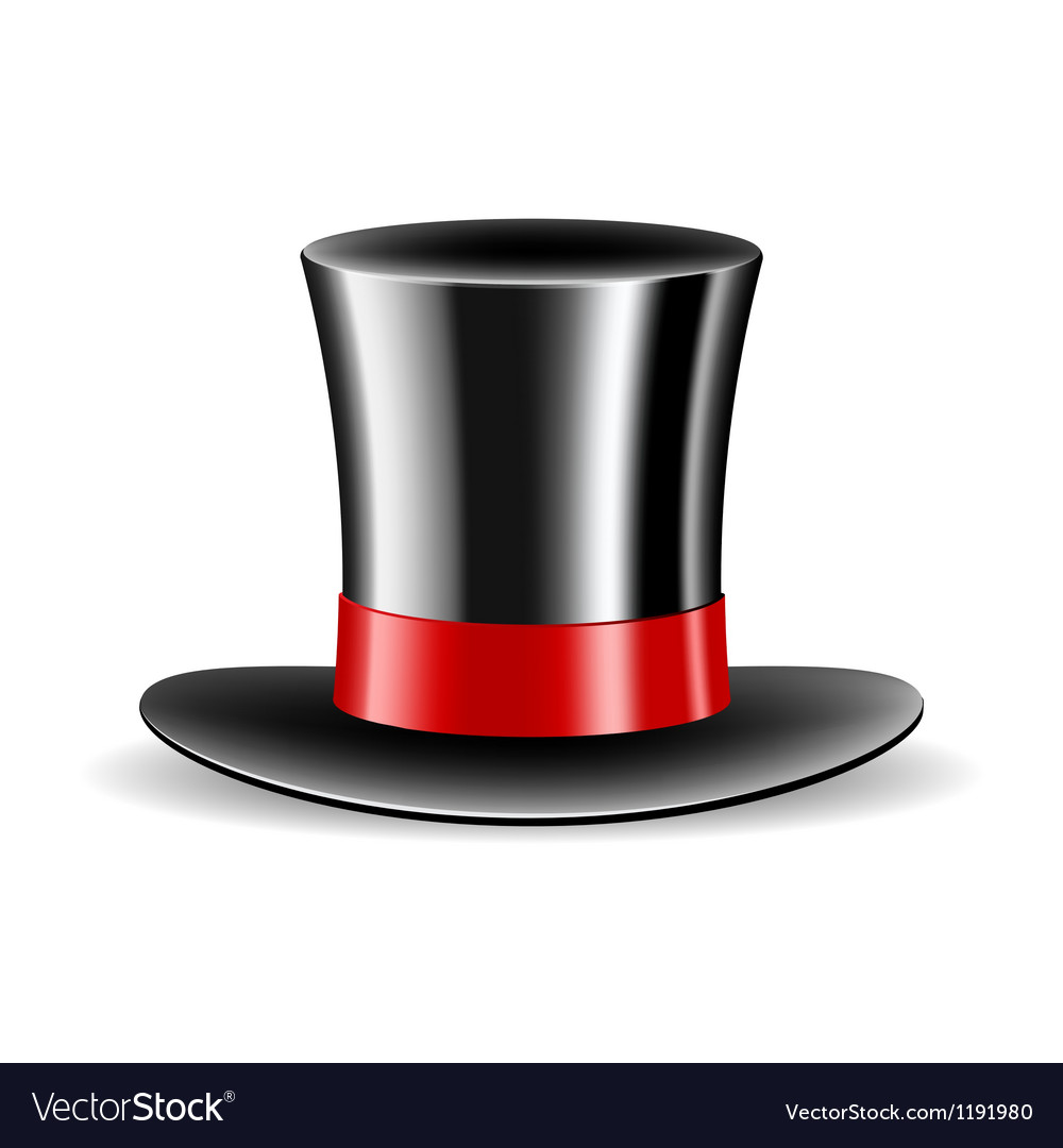Cylinder magic hat vector | Price: 1 Credit (USD $1)