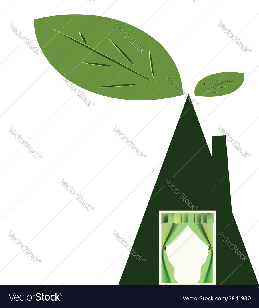Home tree vector | Price: 1 Credit (USD $1)