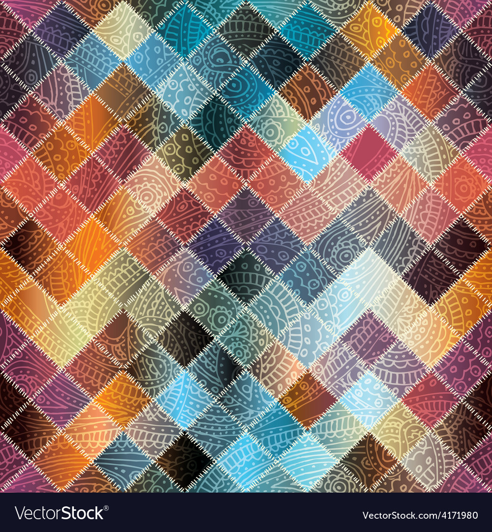 Small patchwork vector | Price: 1 Credit (USD $1)