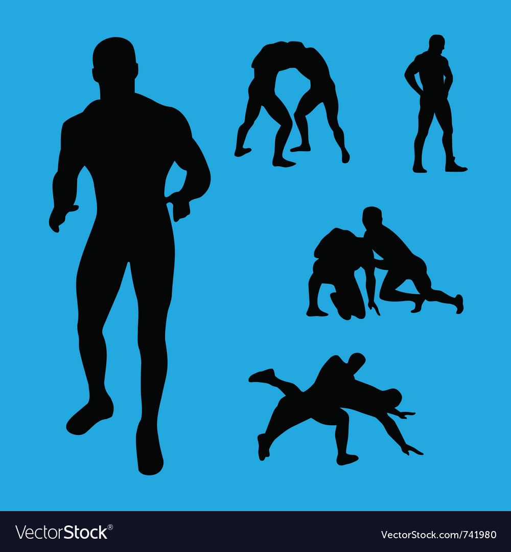 Wrestling collection vector | Price: 1 Credit (USD $1)