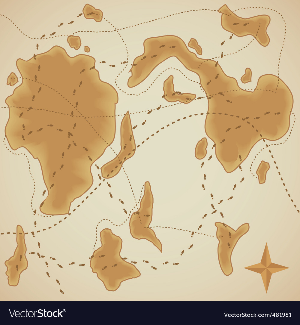 Background of old style map vector | Price: 1 Credit (USD $1)