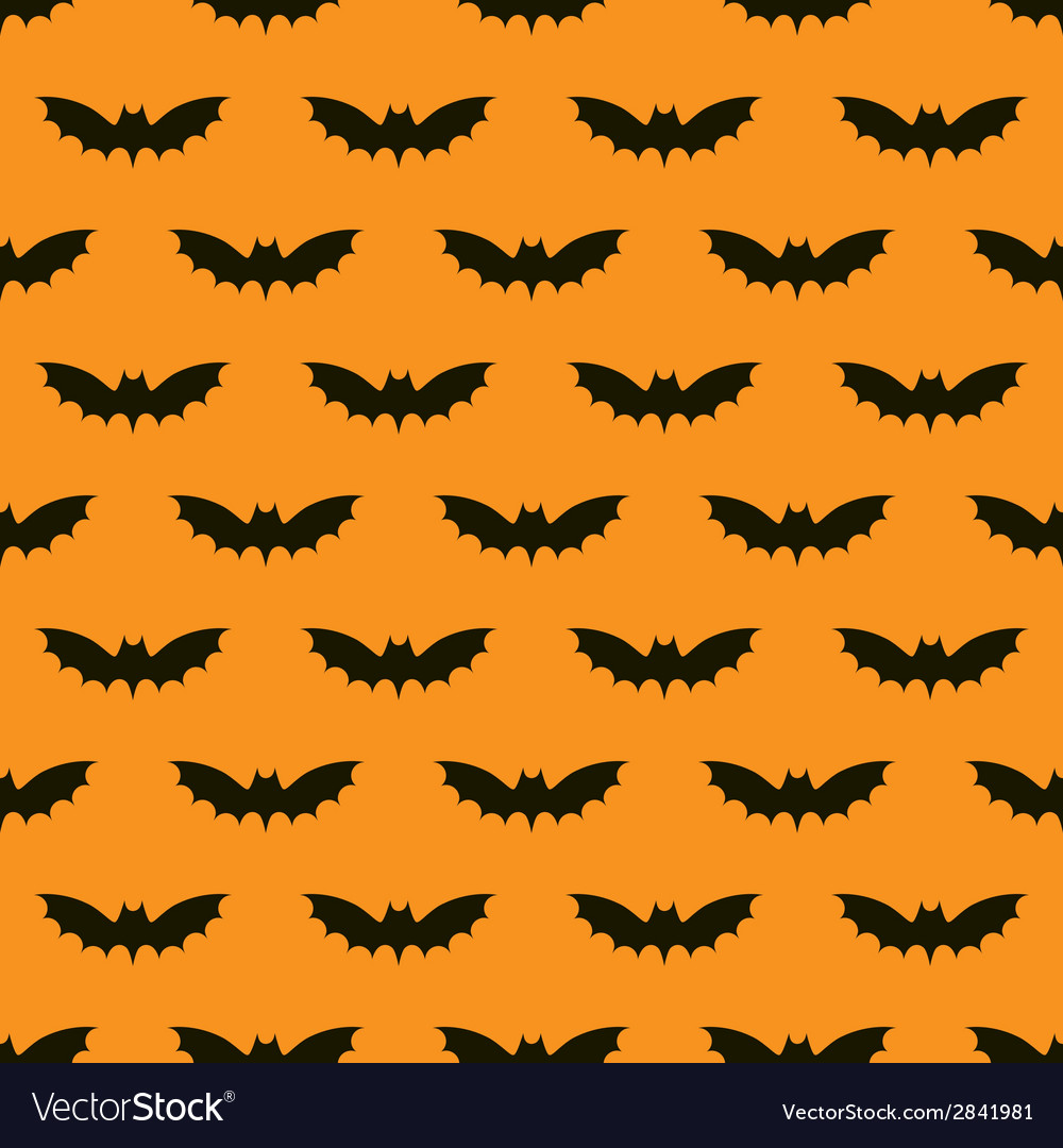 Bats seamless background vector | Price: 1 Credit (USD $1)
