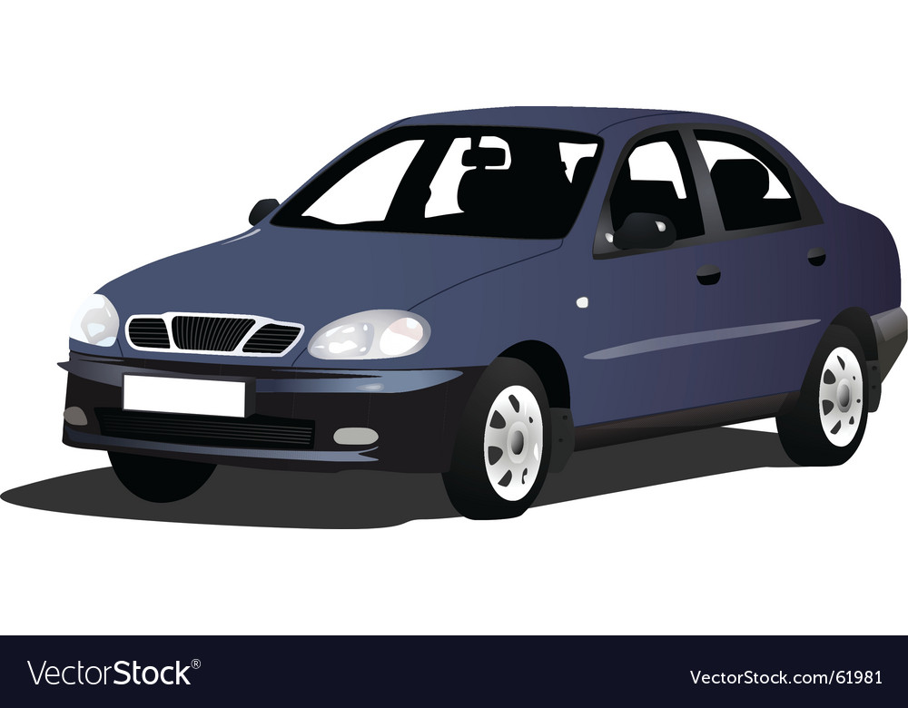 Family car vector | Price: 1 Credit (USD $1)