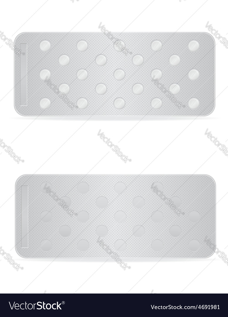 Pill in package 11 vector | Price: 1 Credit (USD $1)