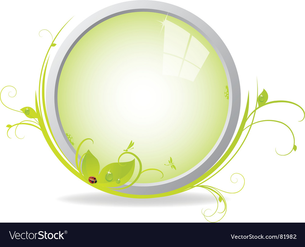 Looking glass vector | Price: 1 Credit (USD $1)