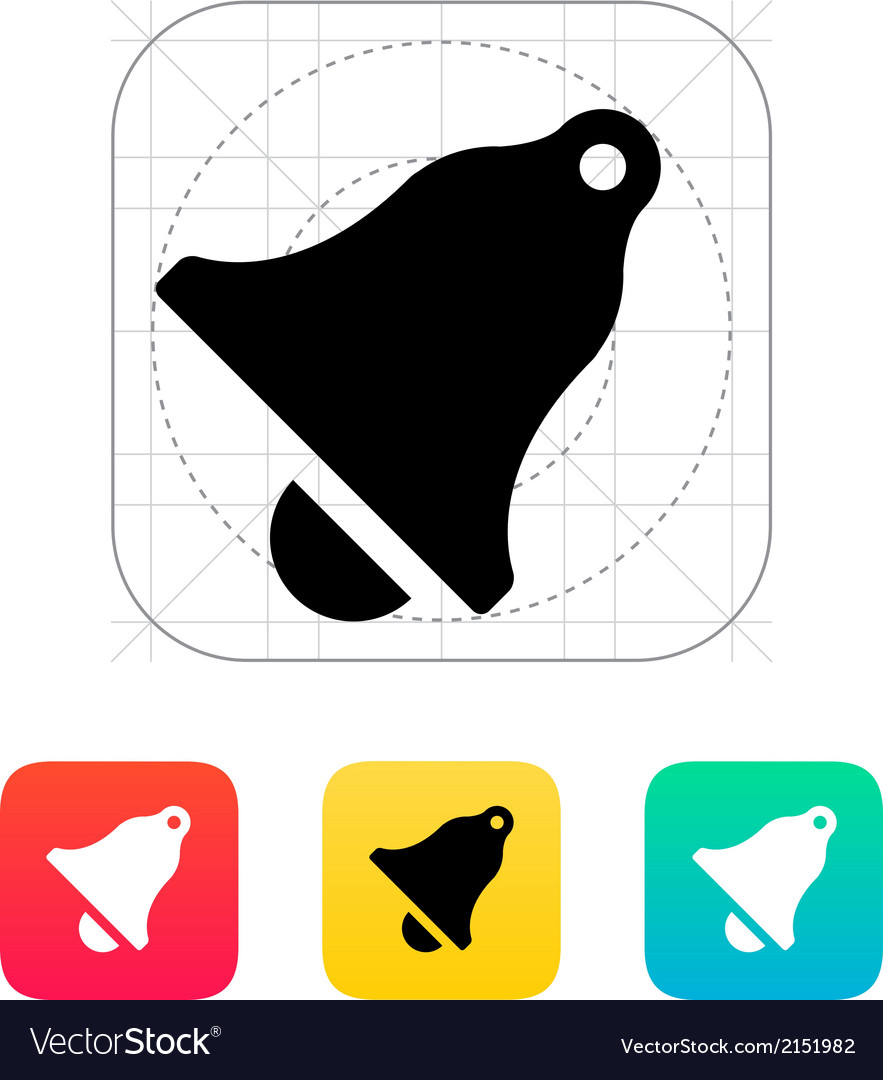 Ringing icon vector | Price: 1 Credit (USD $1)